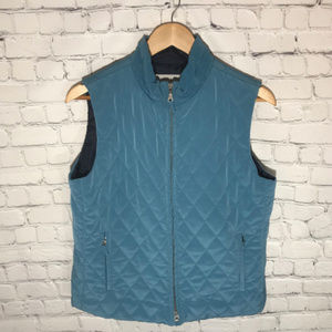 Telluride Clothing Co Quilted Zip Up Vest